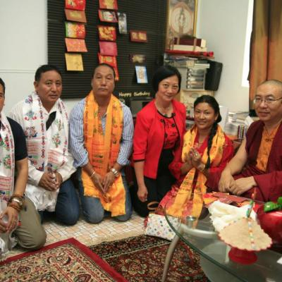 Shamar Rinpoche's Visit to Singapore 2011