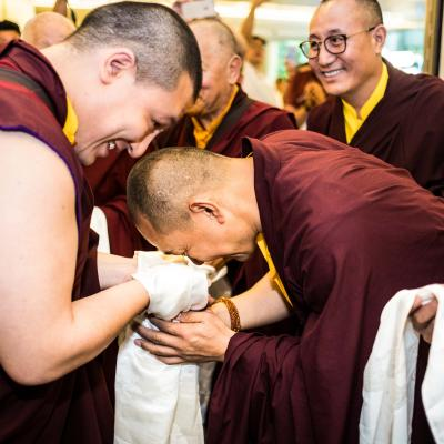 2nd Oct 17 - 2nd Oct 17 Arrival of HH the 17th Karmapa