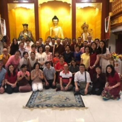 Earth Metal Dog Year 2145 Losar Celebrations with Various Tibetan Buddhist Centre in Singapore